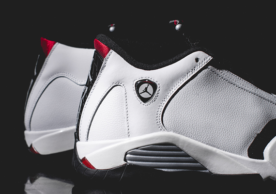 """new product 78edb 91fbe Air Jordan 14 Retro """"Black Toe"""" Color  White Black-Gym Red Style Code   487471-102. Release Date  09 20 14. Price   170"""