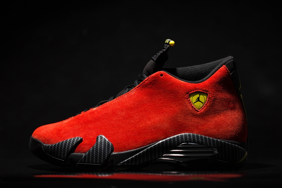 official photos 3a660 bc066 The only new news regarding the Ferrari 14s is that it will cost you  200  total. That s what you get these days for a new one piece upper, premium  suede and ...