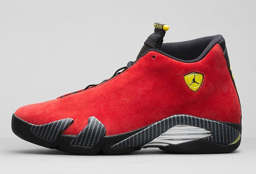 "711c1fcb478f The Air Jordan 14 ""Ferrari"" is headed to Nikestore on September 16th"