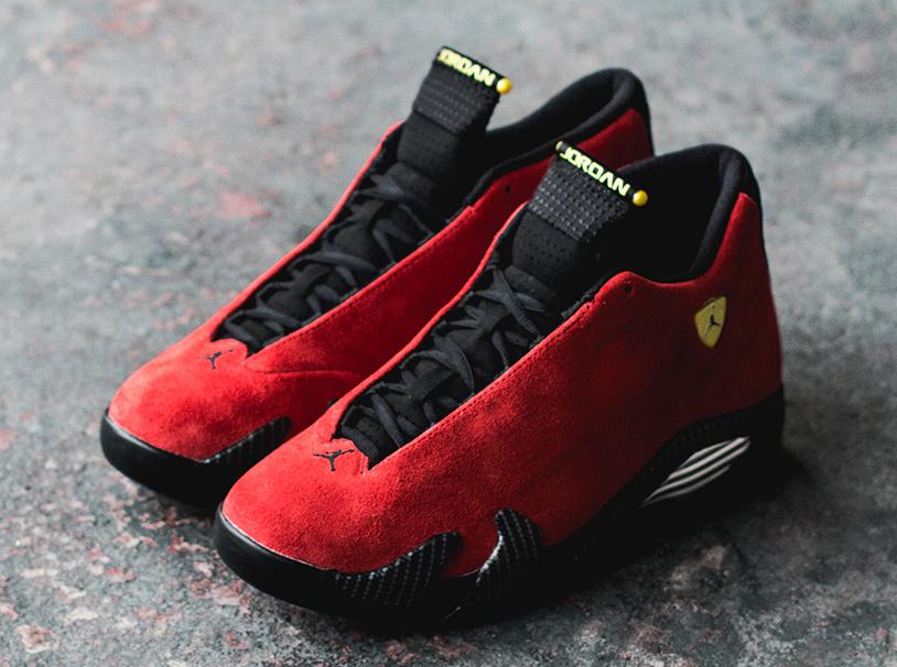 """df18114a2bcb The Air Jordan 14 """"Ferrari"""" will release this Saturday"""