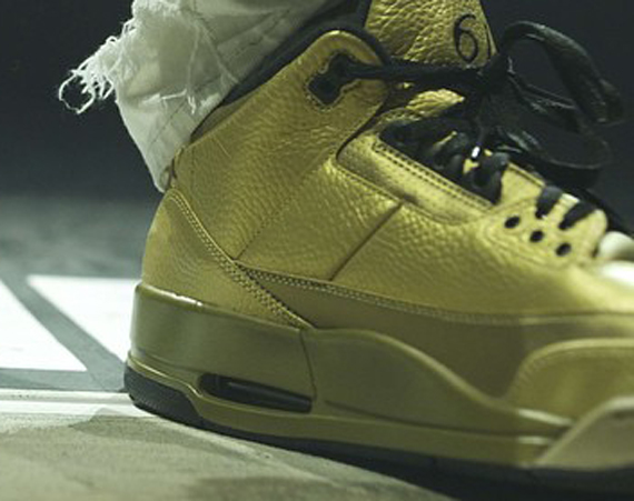Drake Gives Another Preview of His Air Jordan 3 6IX PE