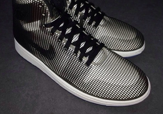 Air Jordan 4Lab1: Black/White
