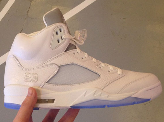 Jordan Brand White/Ice Retro Collection Showcased in Barcelona