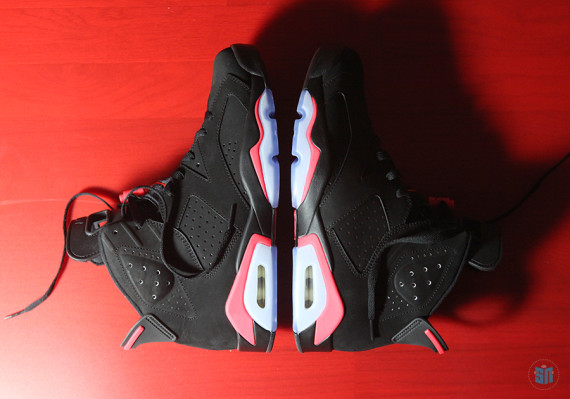 A Detailed Look at the Air Jordan 6 Black/Infrared for Black Friday