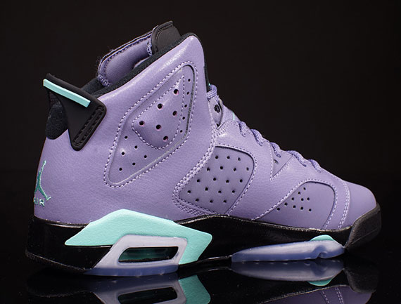 hot sale online 70f32 2f237 ... czech air jordan 6 gs color iron purple bleached turquoise black style  code 543390 508.