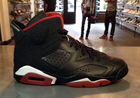 Air Jordan 6: 60/40   Unreleased Sample