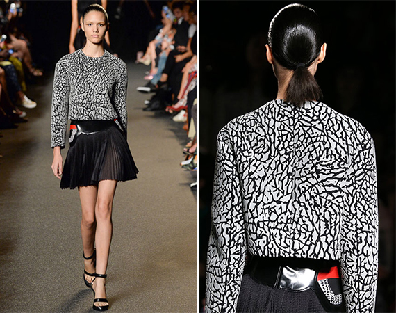 Alexander Wangs Spring 2015 Collection Uses Elephant Print