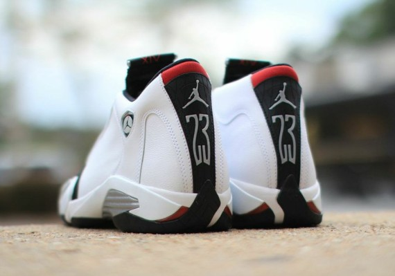 separation shoes 51ed6 8cb0f ... czech air jordan 14 black toe color white black varsity red metallic  silver style code 487471