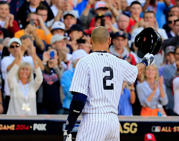 MLB Celebrates Derek Jeters Last Game at Yankee Stadium with Highlight Video