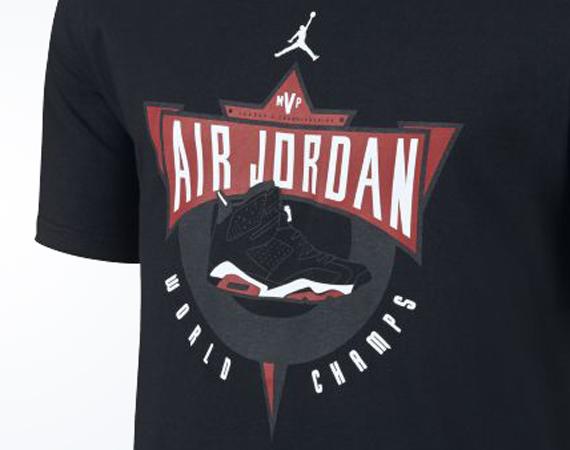 Jordan AJVI Legacy Retro Archive Mens T Shirt