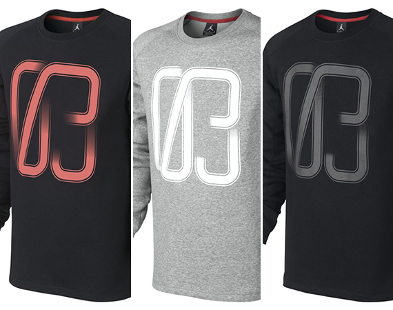 Jordan CP3.VIII: 03   Long Sleeve Crew Sweatshirt
