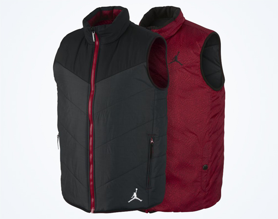 Jordan Ele Padded Reversible Mens Vest