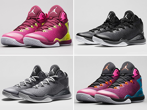 4 New Jordan Super.Fly 3 Colorways Releasing Tomorrow