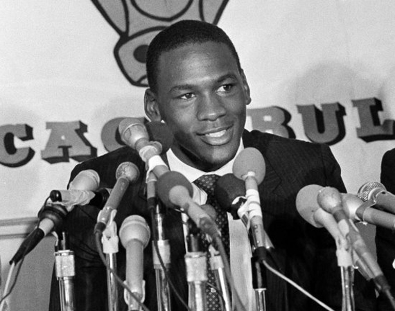 Michael Jordan Signed to the Chicago Bulls 30 Years Ago Today