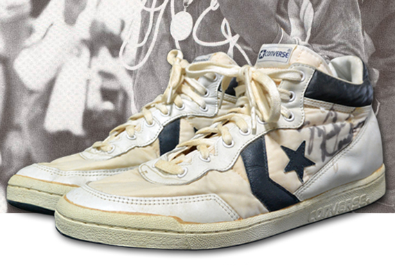 Michael Jordans 1984 Olympic Converse Sneakers Up for Auction