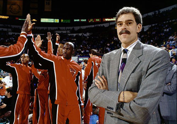 That Time Phil Jackson Coached Wearing the Air Jordan 4
