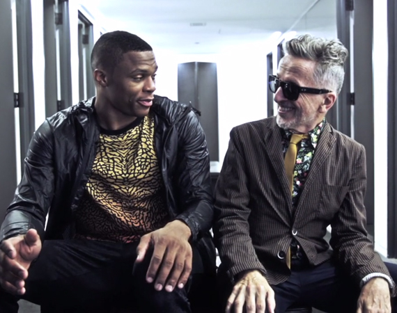 Russell Westbrook Gets Locked in Barneys with Simon Doonan