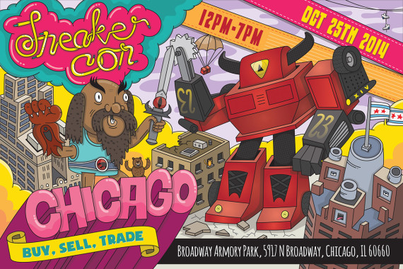 Sneaker Con: Chicago   Saturday, October 25th, 2014