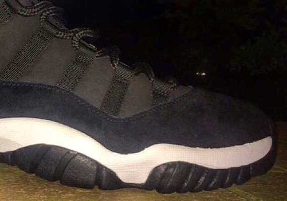 Air Jordan 11 Low: Black Suede  Sample