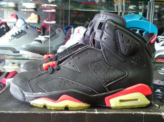 Air Jordan 6: Black/Infrared from 1991   Available on eBay