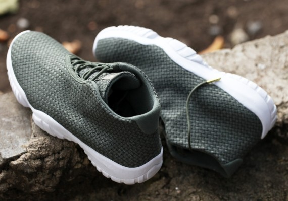 Jordan Future: Iron Green   White