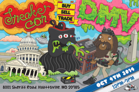 Sneaker Con Washington DC/DMV   October 4th, 2014   Event Reminder
