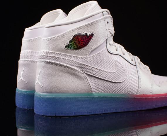 Air Jordan 4 gradient