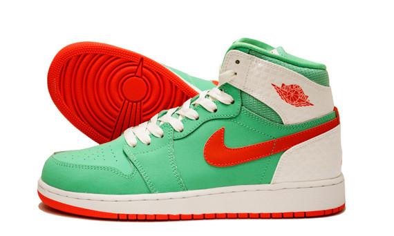 Air Jordan 1 verde