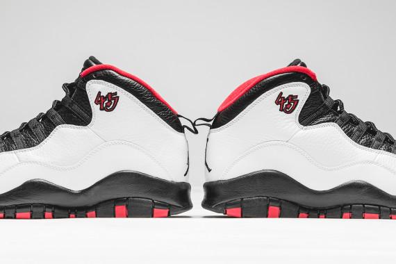 "d4346739af19c9 T-minus three days until the Michael Jordan comeback sneaker – Air Jordan 10  ""Double Nickel"" – makes its own return. Worn by MJ during the 17 regular  season ..."