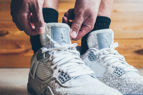 """da8d247ccc03 Jordan Brand s 30th anniversary """"Laser"""" releases conclude this weekend with  the Air Jordan 4 """"Laser"""