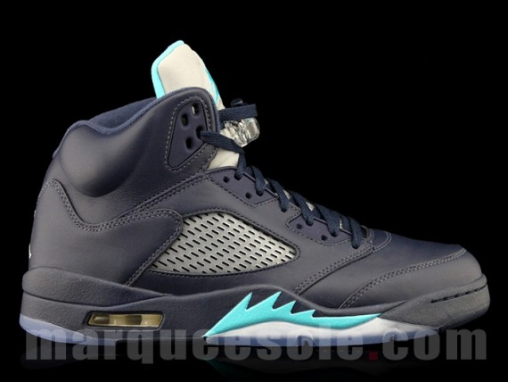 ... get air jordan 5 retro color midnight navy turquoise white style code 136027  405. release 5461c35a8