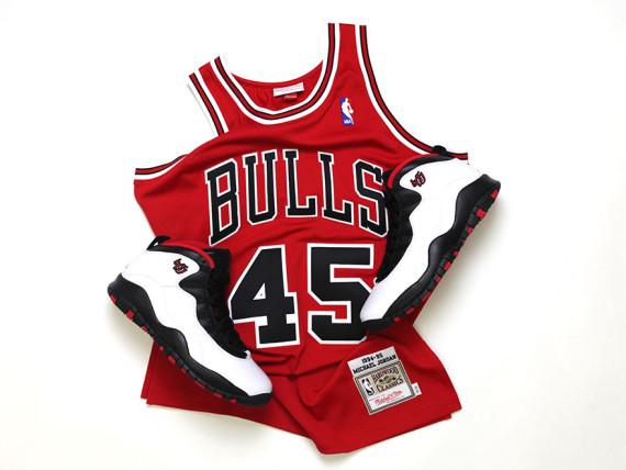 cheap for discount 5114f af506 michael jordan 45 bulls jersey