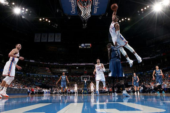 Russell Westbrook continue his torrid performance run last night with his eighth triple-double this season – and sixth in his last eight games – racking up ...
