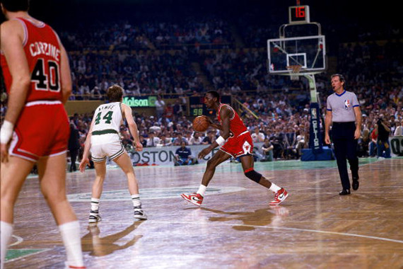1986 NBA Playoffs:  Chicago Bulls vs. Boston Celtics