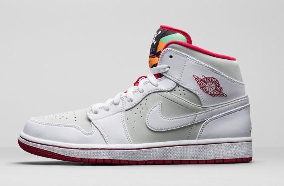 Air Jordan 1 Lièvre Sneaker Code De Style