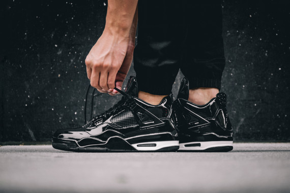 best service 60c1c fa7f1 On-feet photos of sneakers are always of help, especially with kicks on the  louder side of things like the Air Jordan 11LAB4. You just never know from  stock ...