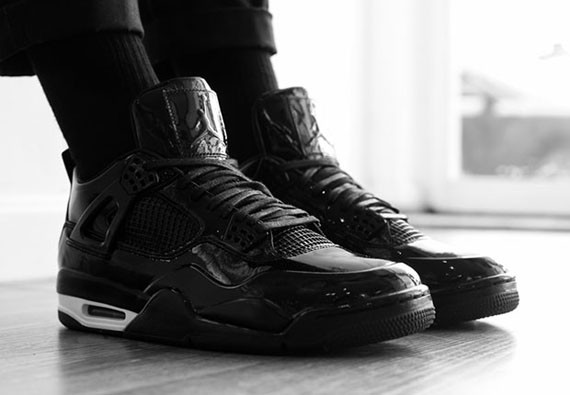 00d94af4b53198 Maybe it s not quite ready to be an official worldwide-accepted replacement  for tuxedo shoes but the Air Jordan 11LAB4 tap dances pretty close to the  ...