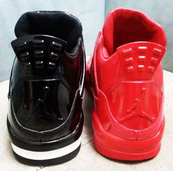 brand new da8e3 ea4da While the Air Jordan 11LAB4 has carried over its glossy patent leather look  across its black and red colorways, you may not want to wear them together.
