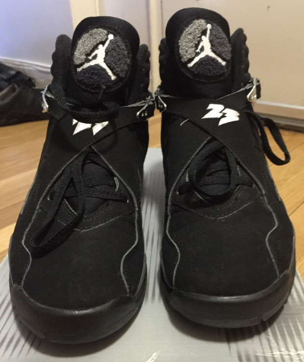 "Next To Real Retro S Fake Retro S: The Daily Jordan: Air Jordan 8 Retro ""Chrome"""