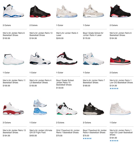 Which Air Jordans Did You Snag In Finish Line s Restock Today  - Air ... 127eac8d321c