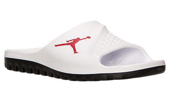 White Air Jordan Slides Jordan Sandals For Sale  21b4ed699