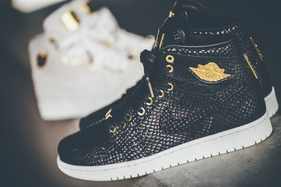Jordan 1 Pinnacle Schwarz