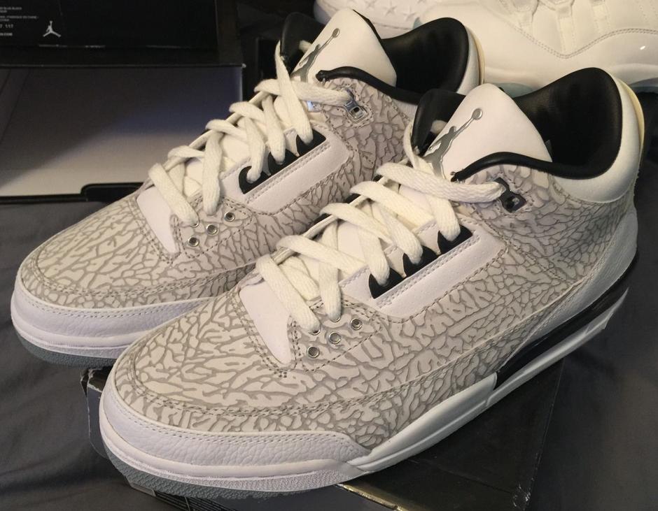 7758d88c4dbf3d Air Jordan 3 White Flip