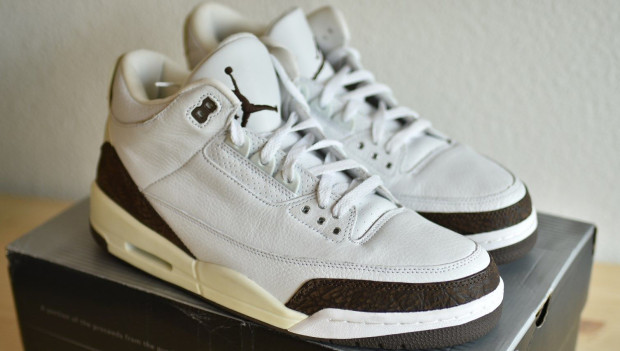 "... Air Jordan 3 III White Mocha 2001 Retro Lets take a quick roll call of  old school ""Retro+"" colorways that are back ..."