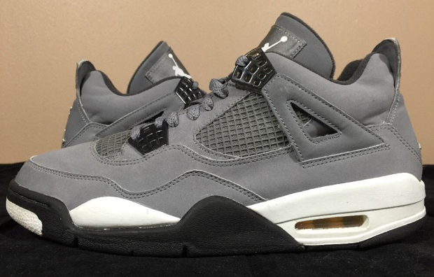 Air Jordan 4 Retro KAWS x Cool Grey Suede White Glow SHIP TODAY