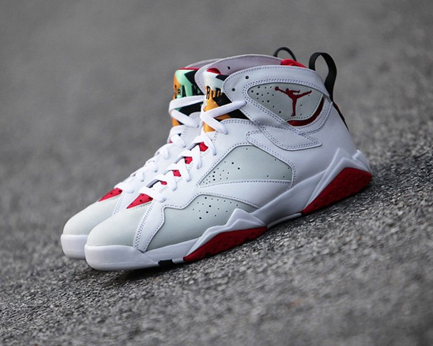 """a00b8826052 Get your funds in order, the Air Jordan 7 """"Hare"""" returns next Saturday, May  16th. First seen in 1992 as the original Bugs Bunny shoe and again in 2008  as ..."""