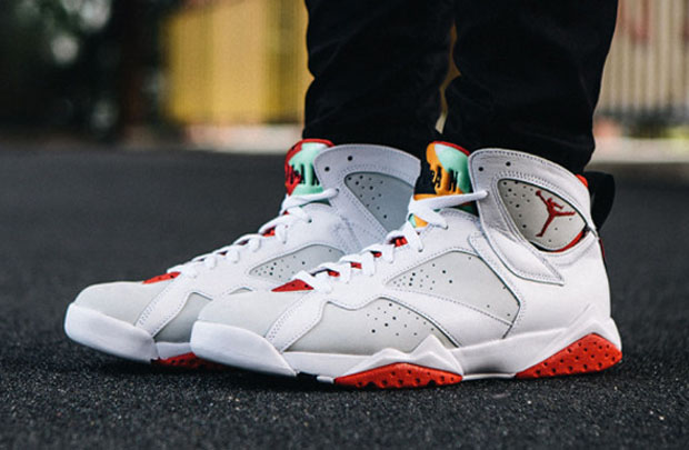 "d70de7d5274 ... The long awaited, highly anticipated Air Jordan 7 ""Hare"" is just hours  away ..."