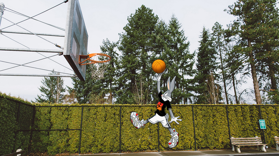 Bugs Bunny Wearing Hare 7s Air Jordan Bugs Bunny Pack Pictures to pin ...