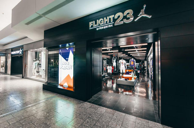 1f3ae3bea0451d The new Flight 23 is open for business in the Chicago area. The Woodfield  Mall in Schaumburg