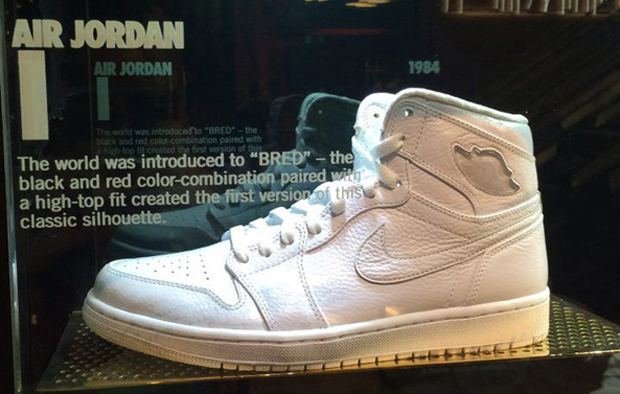 A Look At Every Whiteout Air Jordan Inside Flight 23 At Footaction Las Vegas